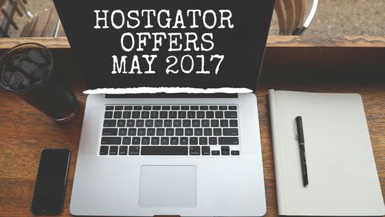 HostGator offers May