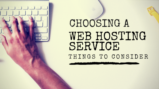 Choosing a Web Hosting Service