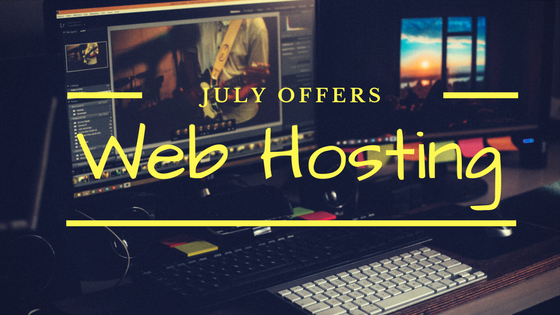 Shared Web Hosting Offers July