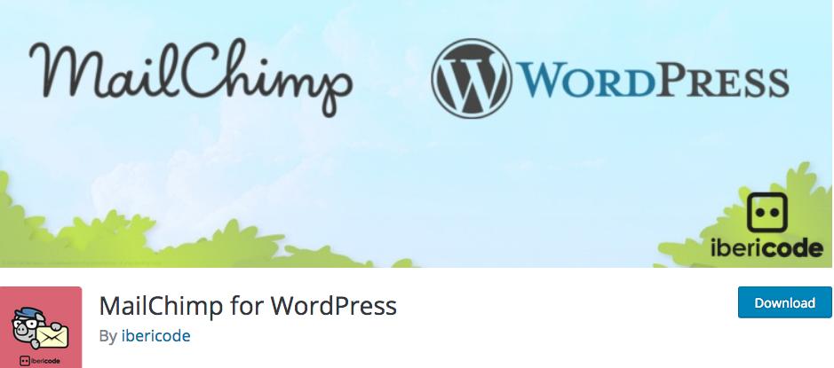 MailChimp for WordPress