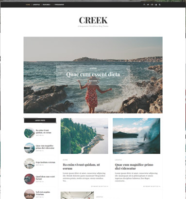 Creek Theme