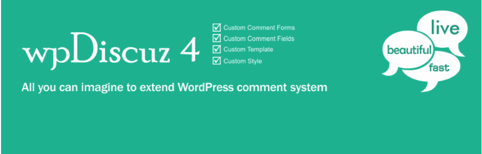 wpDiscuz4 WordPress Plugin