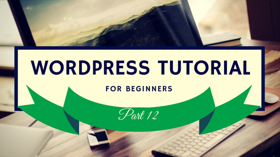 WordPress Tutorial 12 Logo