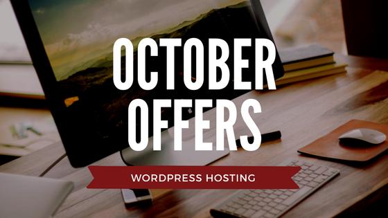 Web Hosting Offers WordPress October Logo