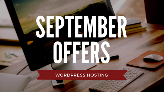 Web Hosting Offers WordPress September Logo