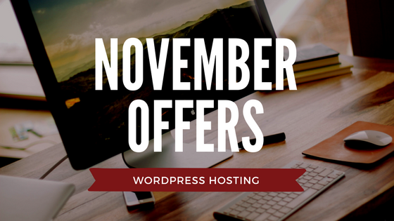 Web Hosting Offers WordPress November Logo