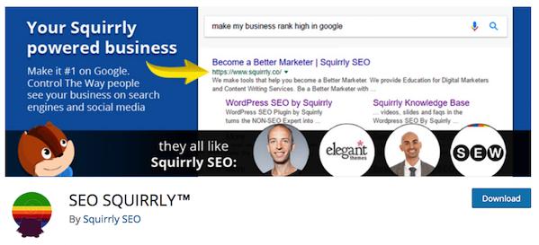 SEO spuirrly best WordPress Plugins