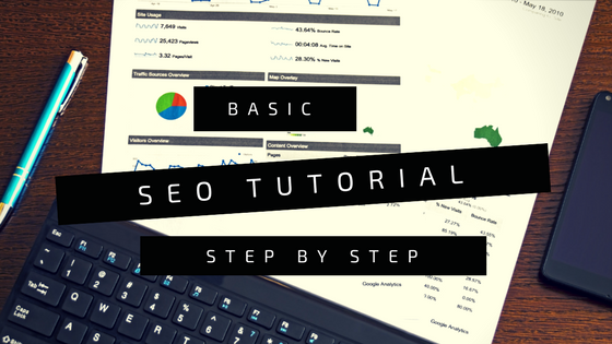 Basic SEO Tutorial step by step Logo