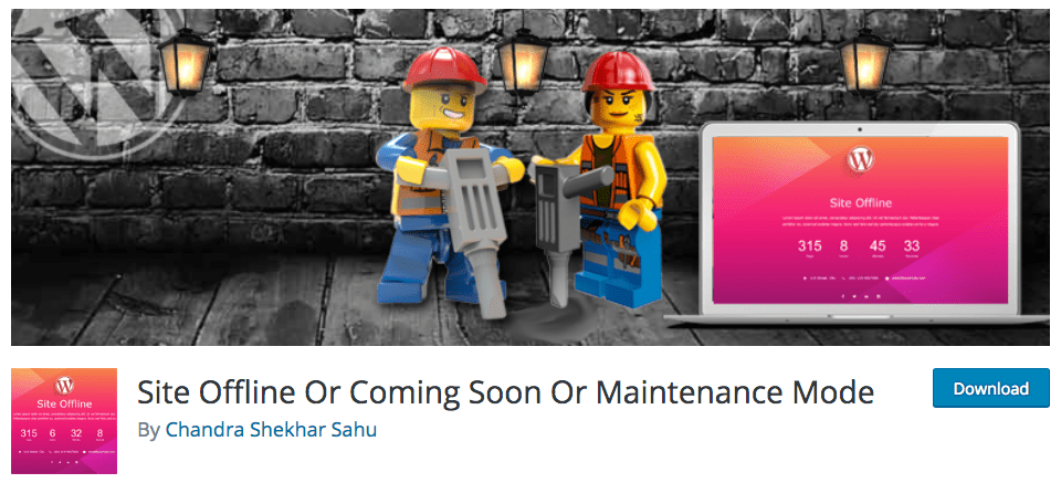 Site Offline Or Coming Soon Or Maintenance Mode
