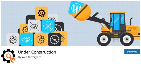 Under Construction Plugins Logo